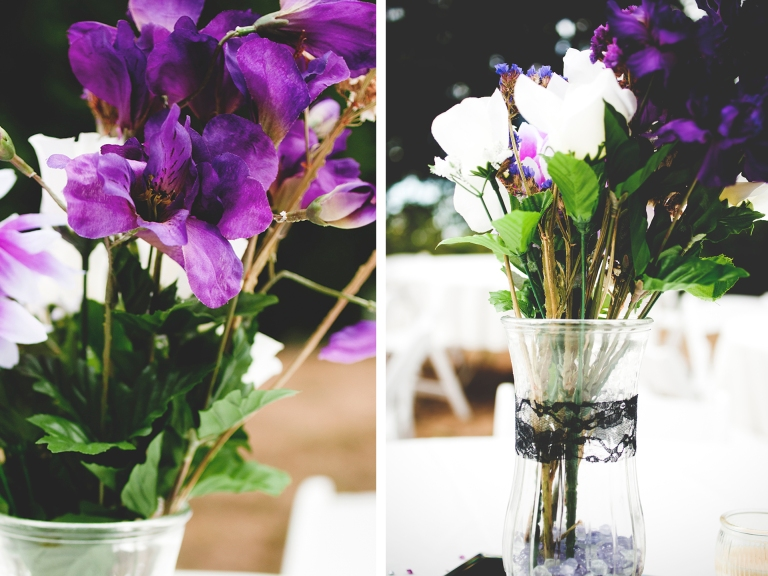 purple wedding flowers at a small and intimate wedding by Jane S photography_DSC6606