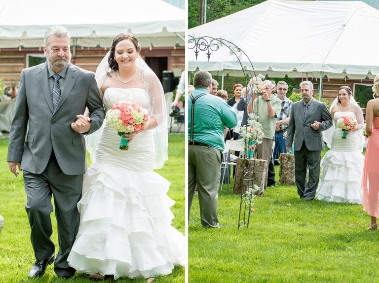 Bride walking down the isle DSC_7848