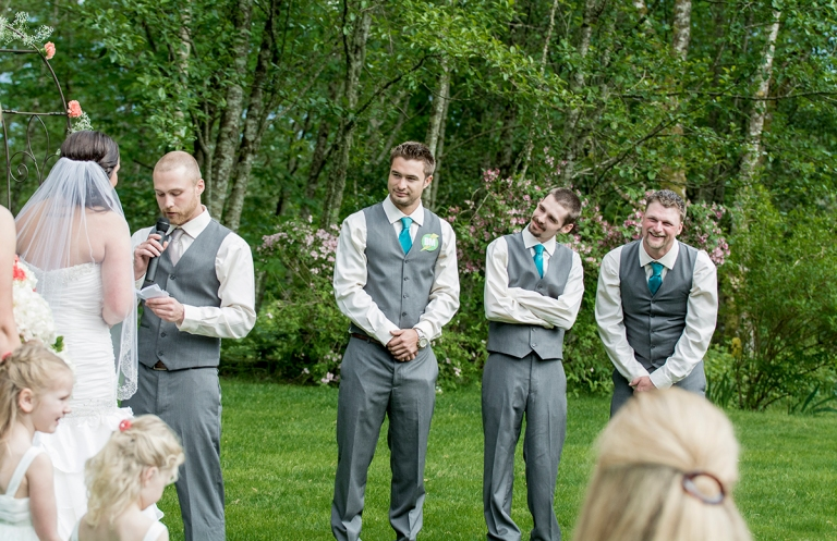 Groomsmen during the ceremony DSC_0931