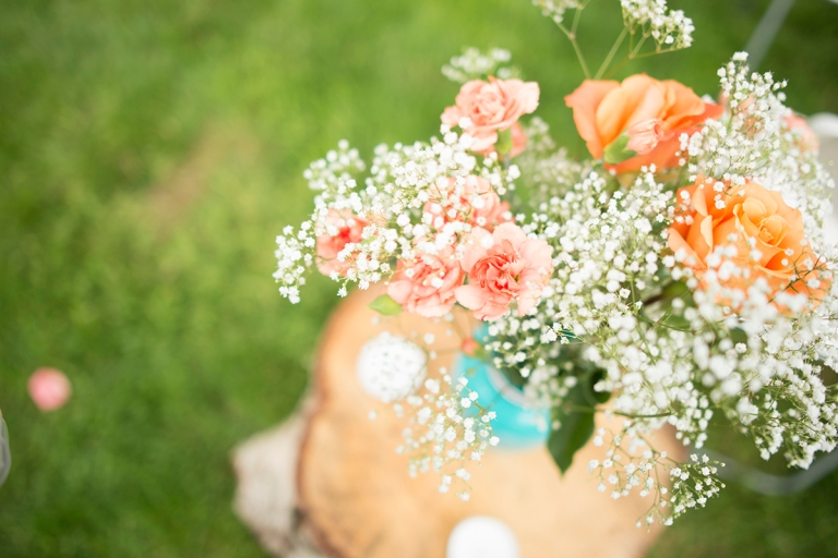 peach flower decor ideas DSC_8853