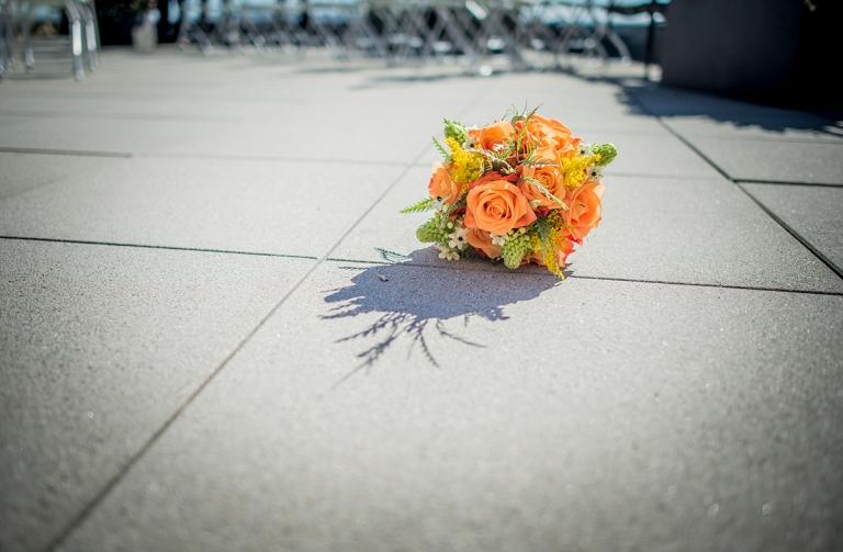 Bridal bouquet D+T