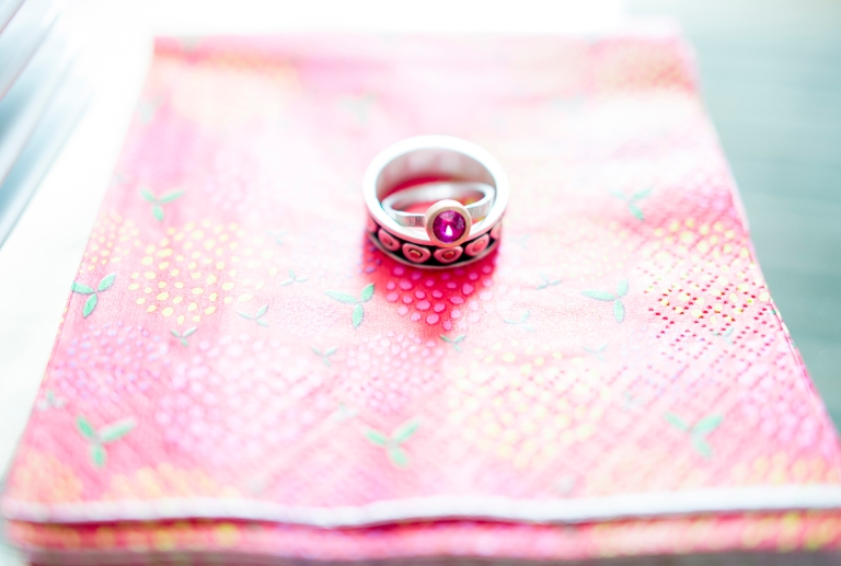 pink stone ring ideas