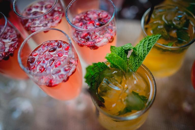 pomegranate and mint D+T