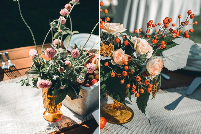 M&R River House Italian Wedding 2015DSC_4357 flowers fall colors