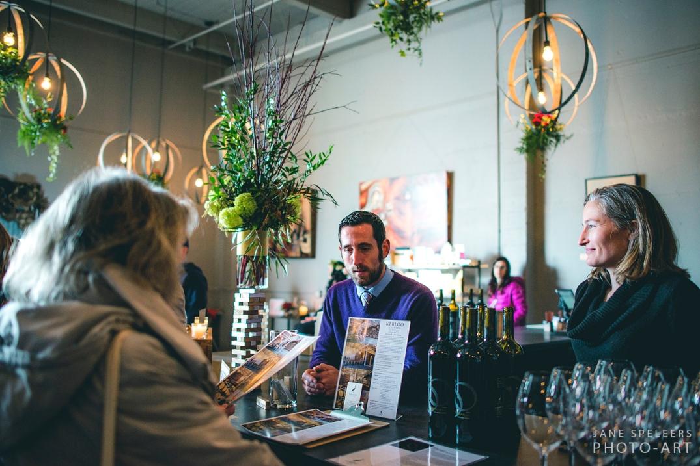 Kerloo Cellars wine tasting at I DO SODO Seattle bar and owner
