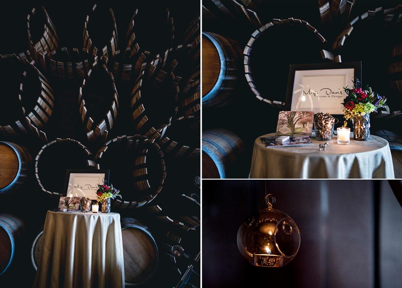 Wedding Planner table at I do SODO show Melody Davis location Kerloo Cellars