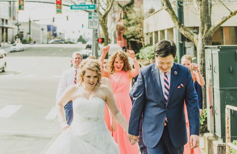 DSC_2183Everett_Wedding_Ballroom_Jane_Speleers_photography_Rachel_and_Edmund_Bridesmaids_peach_dresses_groomsmen_2017