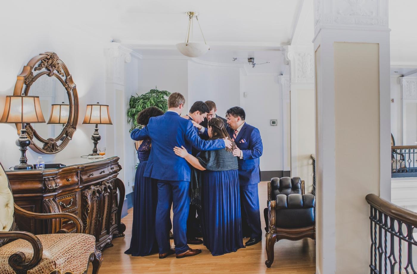 DSC_2401Everett_Wedding_Ballroom_Jane_Speleers_photography_Rachel_and_Edmund_Praying_2017